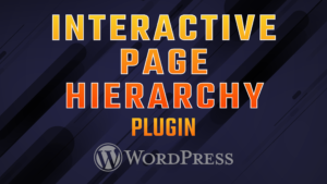 Interactive Page Hierarchy for WordPress